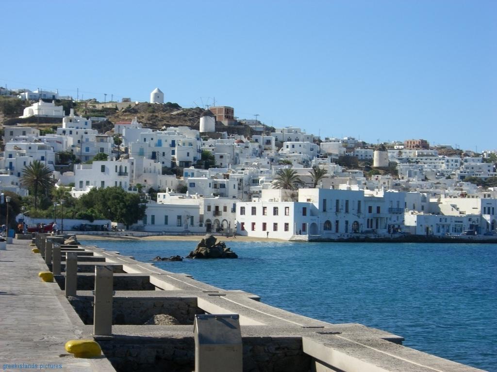 Mykonos island pictures