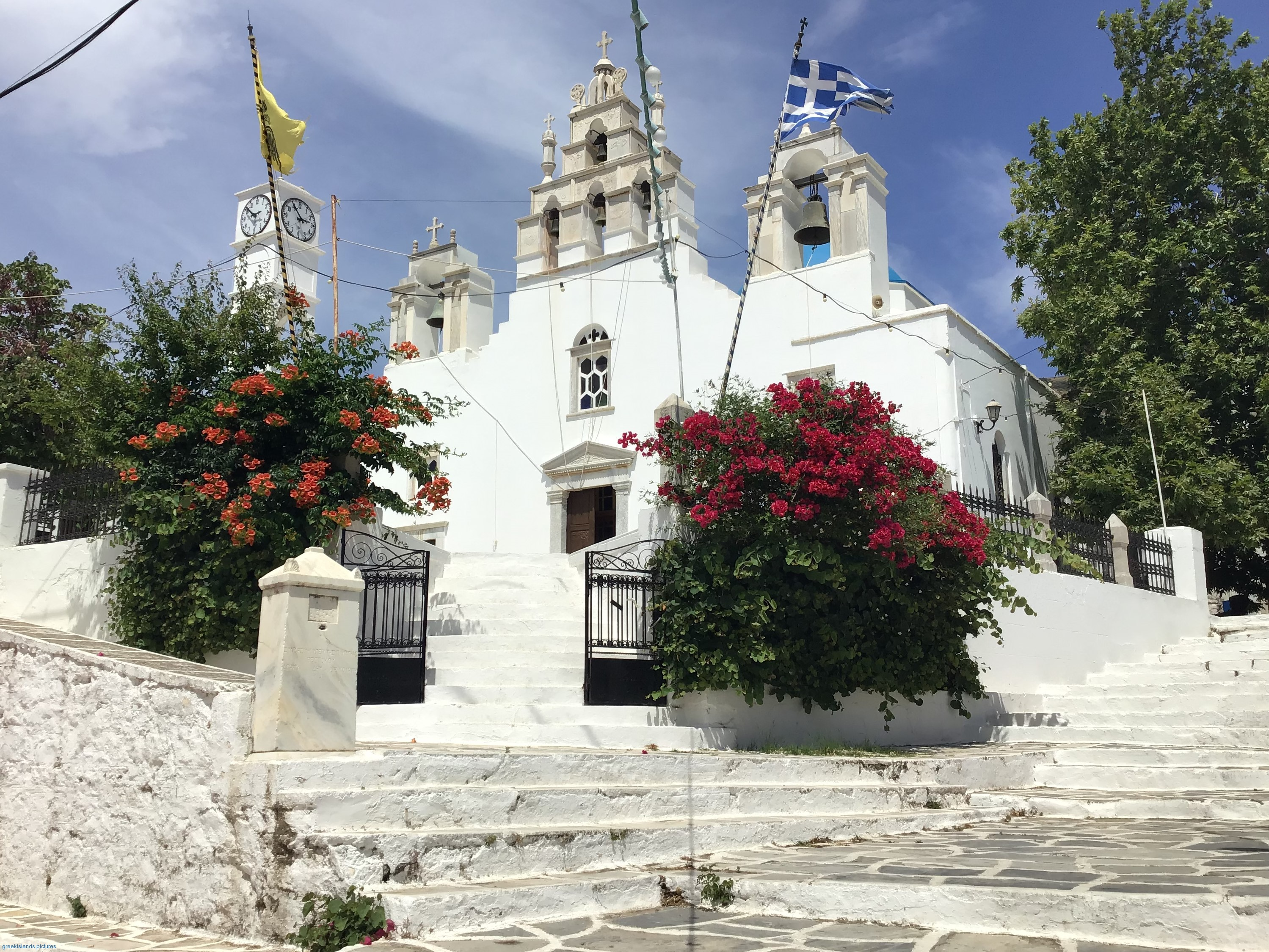 The church of Panagia Filotitisa, dedicated to the Assumption of the Virgin Mary, a basilica built in 1718 in the place of an old Byzantine temple.