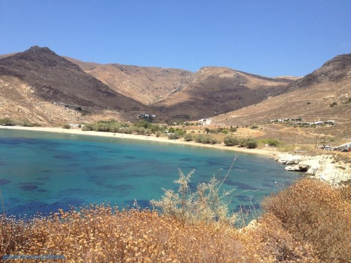 Serifos Ganema beach