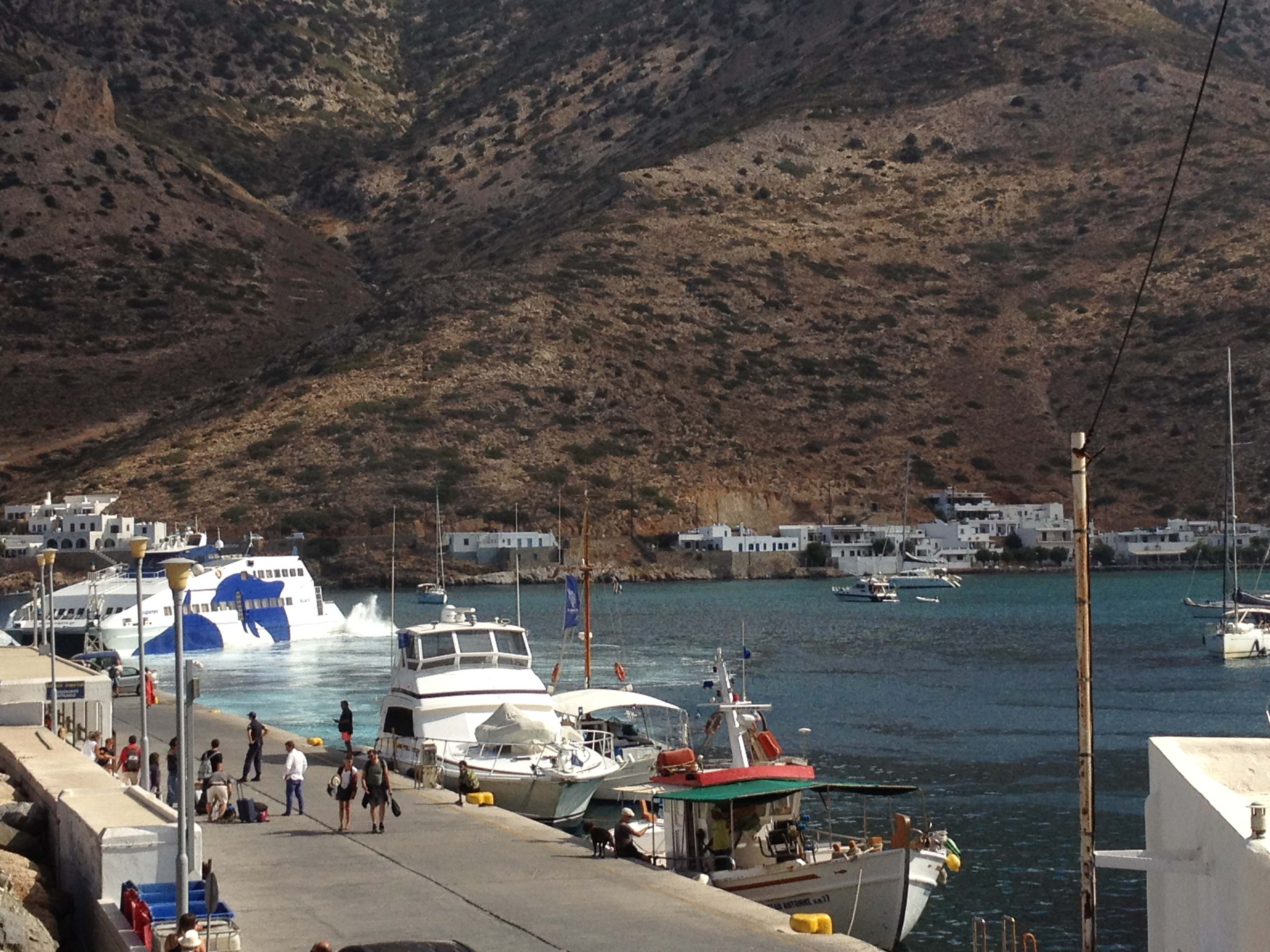 Sifnos Island - Sifnos is Tom Hanks' favorite - Kamares port