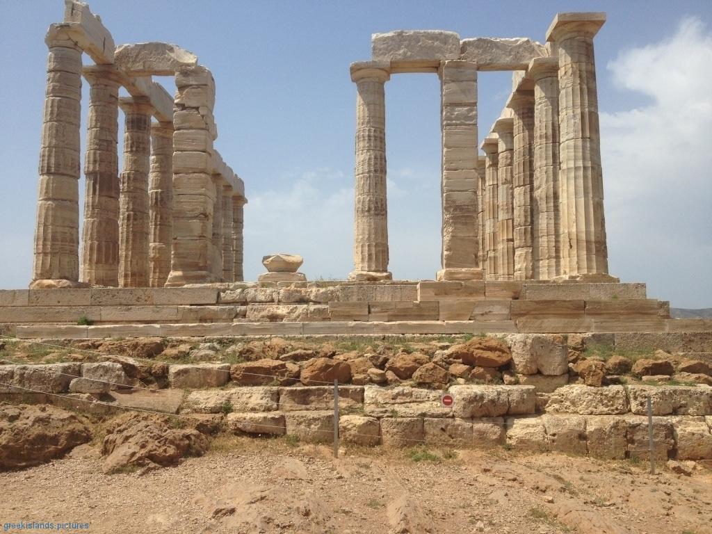 ArchaeologicalSite of SOUNIO (Temple of Poseidon)