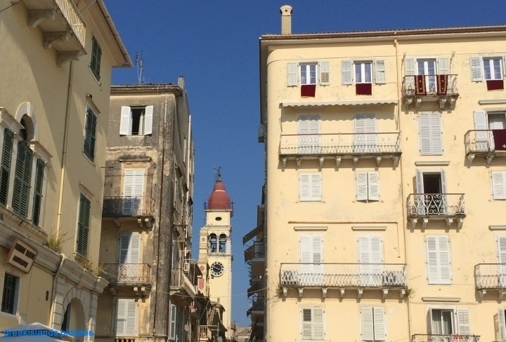 """Typical """"Architecture"""" in the Corfu Town"""